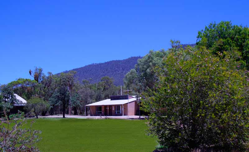 Camp Willochra oval