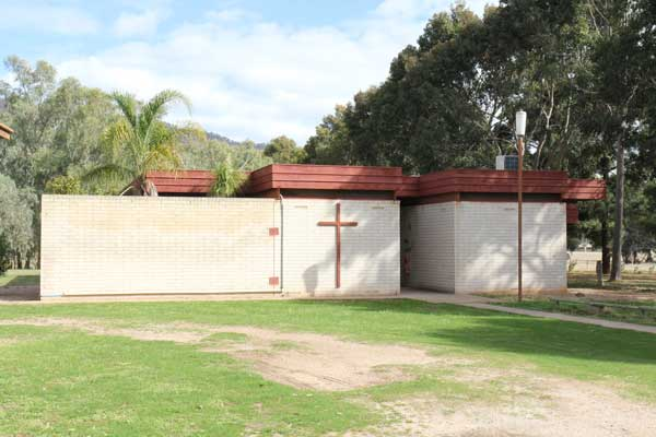 Outside view of the Chapel