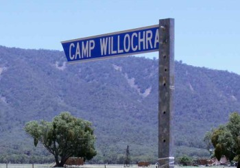 Road Sign for Camp Willochra